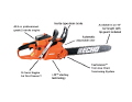 Where to rent CHAIN SAW CS-400F 18 in New Boston OH