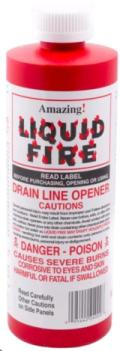 Rental store for Drain Line Opener, Liquid Fire 16 oz. in New Boston OH